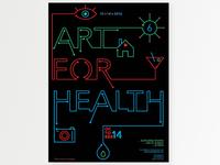 Art For Health Poster 2016