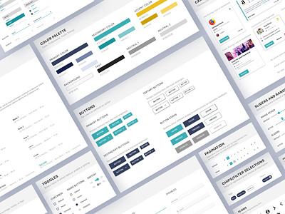 UI Kit ui components component design component library design systems website design ui kits ui elements design system ui kit design ui kit user experience design branding design ux web ui