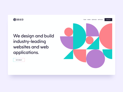 Braid development agency agency website portfolio ux ui web design web website development agency