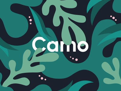 Camo typography illustration print camouflage camo