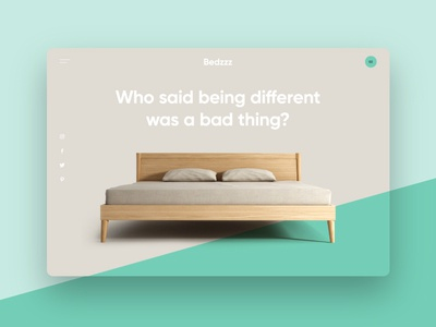 Bedzzz digital ux ui interface web website bespoke ecommerce bed