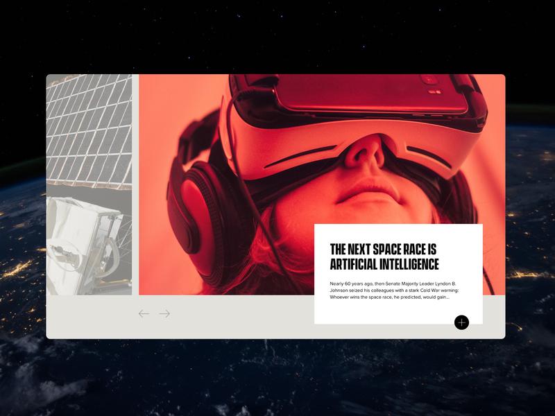 Cognitive Times — Concept A web deisgn ux design ui  ux website design magazine design website blog magazine