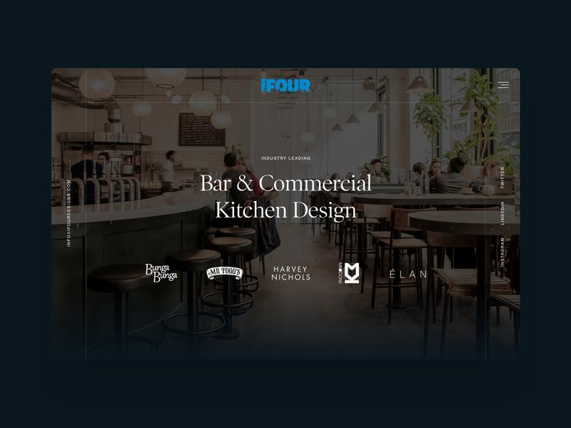 iFour digital design ui  ux design ux ui website design web design website