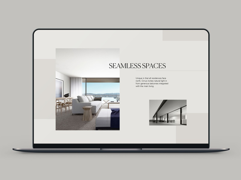 Cirrus ux ui design uidesign digital design web design website property