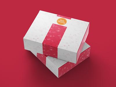 Cake box design cocept concept designs minimal copyright flat photoshop illustrator illustration vector design