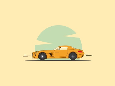 Car illustration drawing minimal illustrator illustration vector design