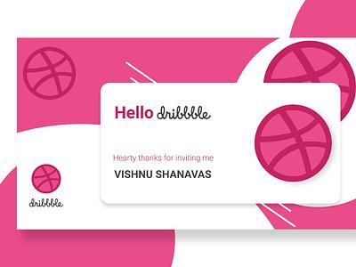 Dribbble invite dribbble invite invite design ui illustration design