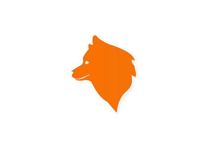 fox icon brand branding logo cc flat app web illustrator vector illustration design