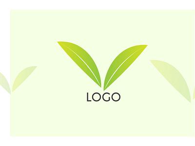 leaf logo adobe ux cc typography illustrator vector illustration design branding logo