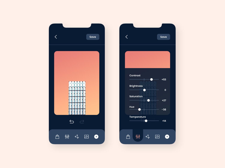 Daily UI #007 - Settings dark mode settings daily ui concept design ui ux mobile design uidesign app design daily ui challenge