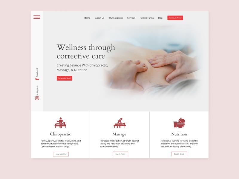 Sample Web design design web ui ux