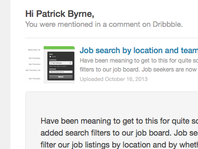 You Got Your HTML In My Email Client dribbble