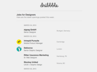 Jobs For Designers