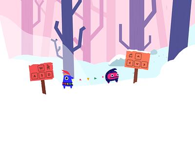Pikwip Game character indie game indiedev game art game design illustration bunny sam