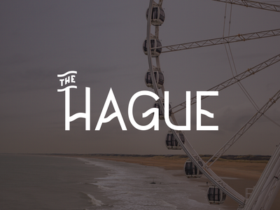 The Hague type typography lettering netherlands holland den haag the hague bunny sam