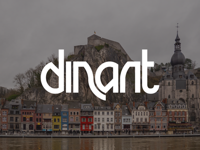 Dinant european europe belgium dinant design typography lettering bunny sam