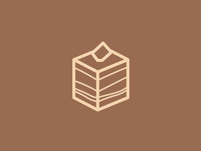 Day 23 - Tiramisu - 100 Days of Icons dessert tiramisu sam illustration icon days bunny 100