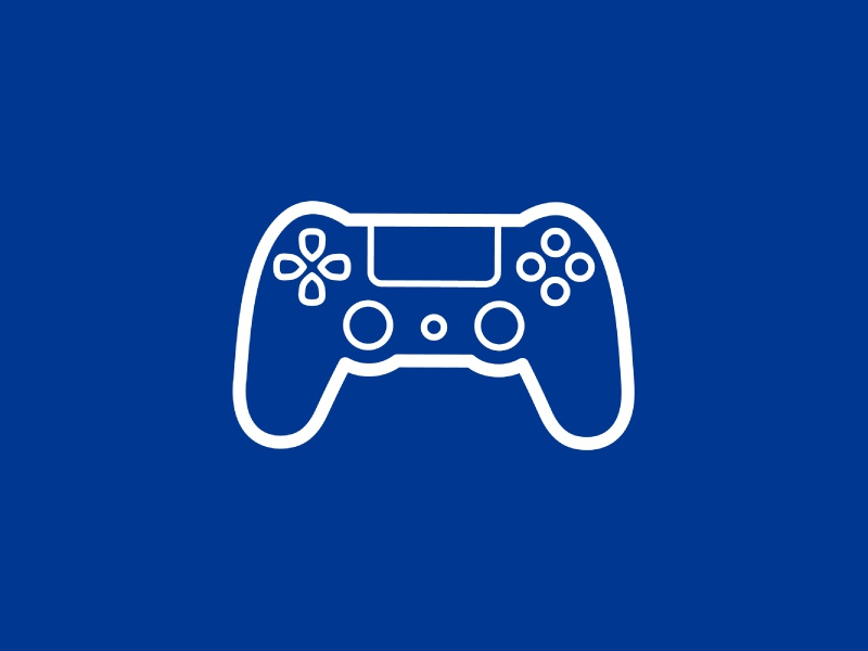 Day 26 - Playstation - 100 Days of Icons by Sam Bunny on Dribbble