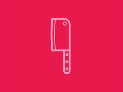 Day 94 - Cleaver - 100 Days of Icons