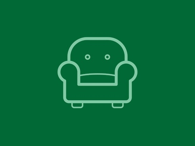 Day 95 - Couch - 100 Days of Icons
