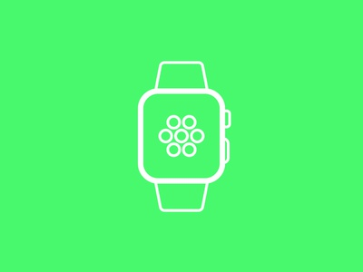 Day 99 - Apple Watch - 100 Days of Icons
