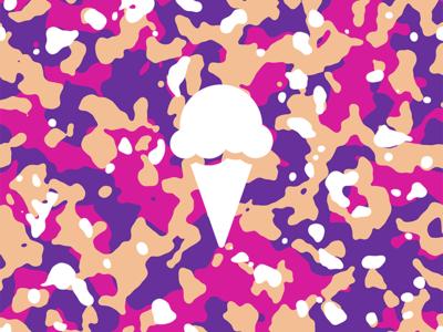 Boysenberry Ice Cream Camouflage