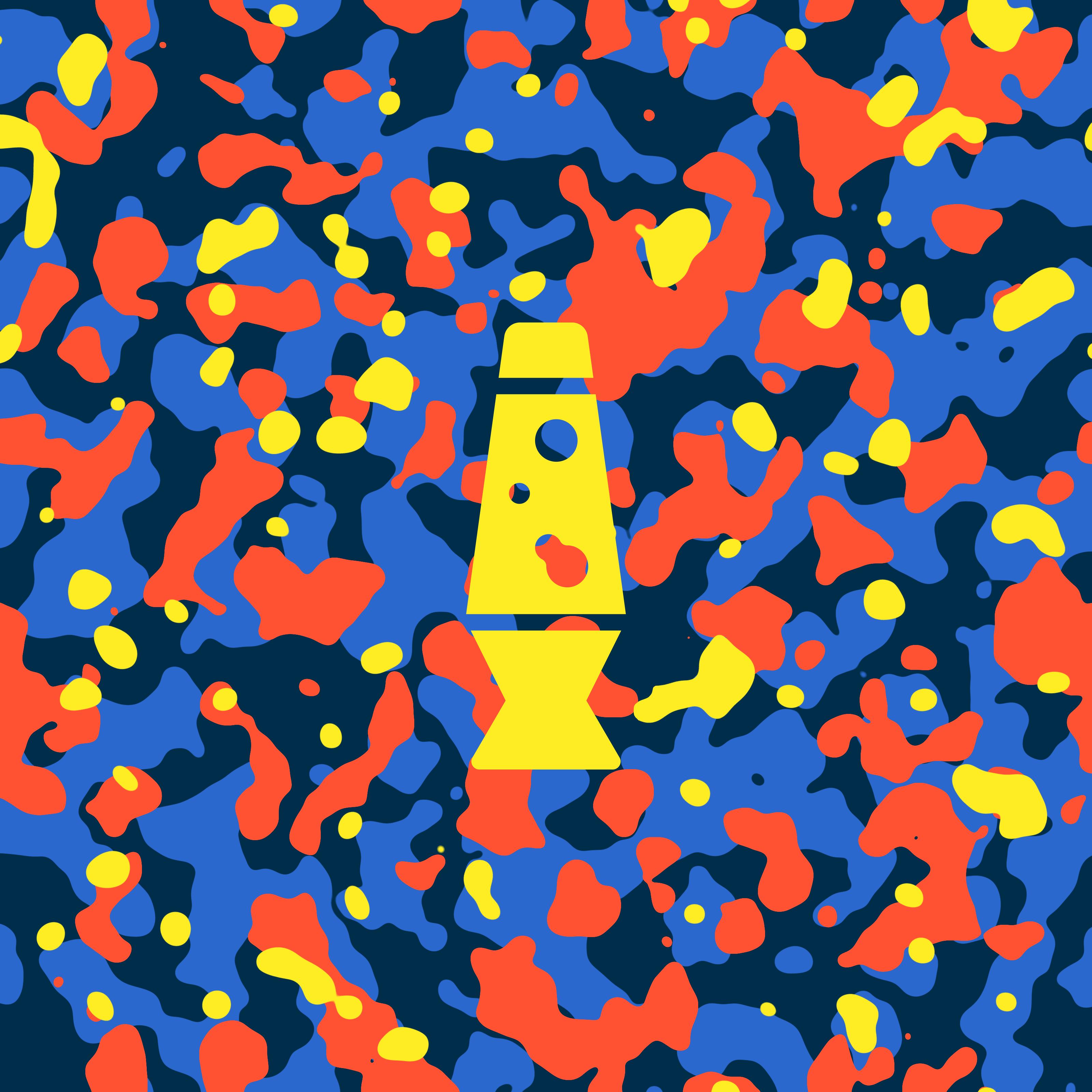 Lava lamp camouflage