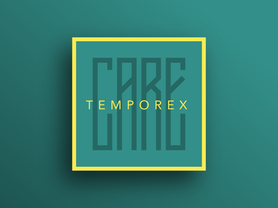 Care by TEMPOREX cover album green yellow temporex care typehue