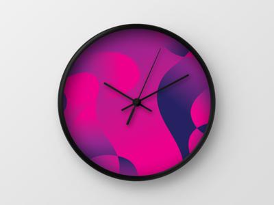 Bloom Wall Clock
