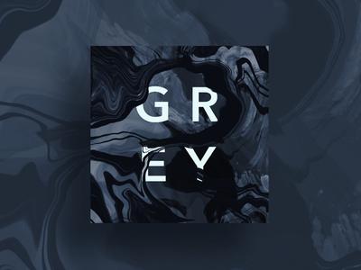 Grey abstract bunny sam gray grey procreate pocket procreate