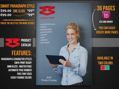Product Catalog Template Vol2