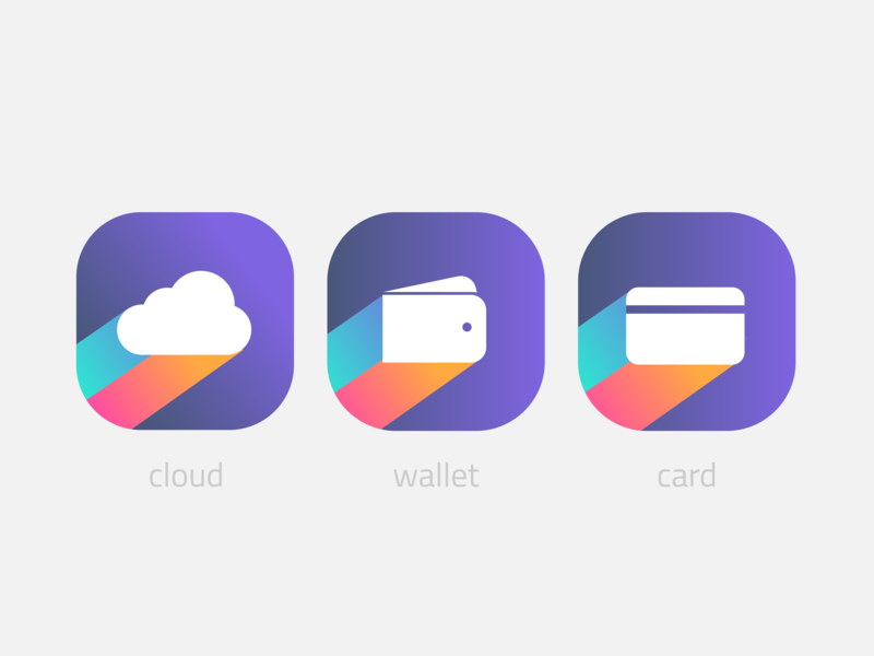 Web icons icon icons set cloud wallet inspiration art website webdesign ux app  design app ui logodesign logo icondesign icons webicons