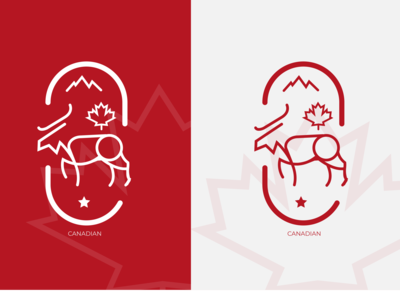CANADIAN Logo Design