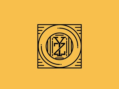Y Z Monogram monogram logo logo design logodesign logotype logos monogramlogo logo mono monochromatic monochrome monoline monogram