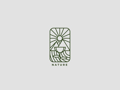 Nature Badge Logo nature badge design badgedesign badge logo badges badge art direction article artwork artist art logolovers logolounge logodesign logolearn logolove logos logo design logotype logo