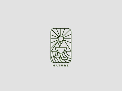 Nature Badge Logo nature badge design badgedesign badge logo badges badge art direction article artwork artist art logolovers logolounge logodesign logolearn logolove logos logo design logotype logo
