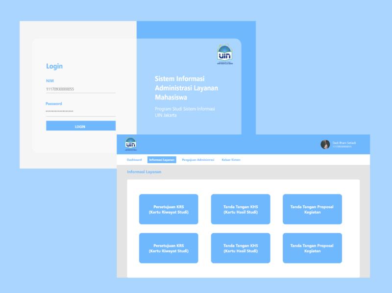 Login and Main Web Interface