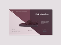 Nike Zoom Product Page Redesign