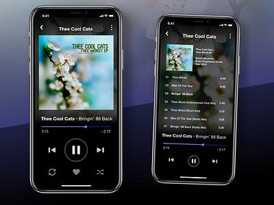 DailyUI 009 webdesign web design of the day user interface music app design dailyui adobexd
