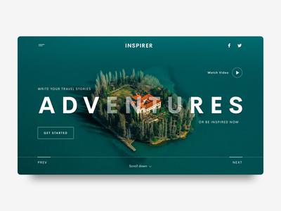 Travel Website Landing Page (P2)