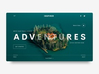 Travel Website Landing Page (P2)