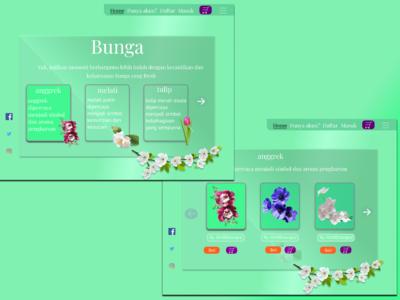 website ecommerce bunga