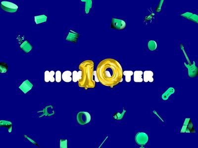 Kickstarter 10 Celebration