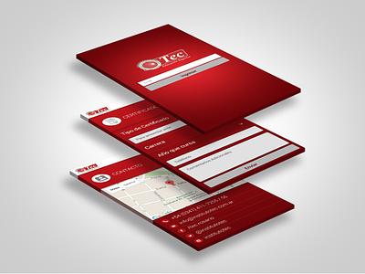 Tec Institute android app mobile app uidesign uxdesign uxuidesign