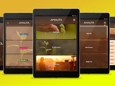 Amauta App mobil app icon ux vector design ui uxuidesign ui  ux uidesign mobile app uxdesign android app