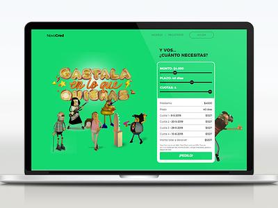 Novocred Web creativedirection artdirector charachter design 3d art branding web design ux icon ui uxuidesign ui  ux uidesign uxdesign