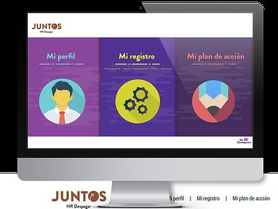 JUNTOS - Despegar web ux design vector icon ui uxuidesign ui  ux uidesign uxdesign