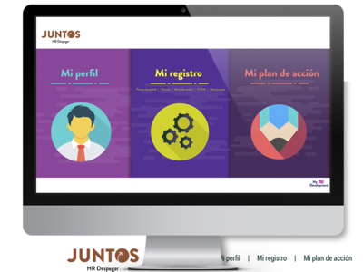 JUNTOS - Despegar web ux design vector icon ui uxuidesign ui  ux uidesign uxdesign