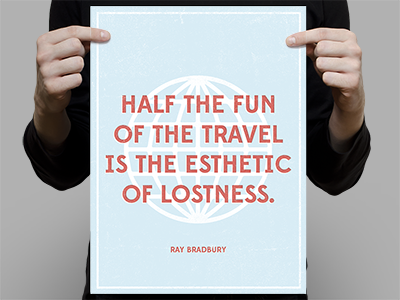 Esthetic of Lostness