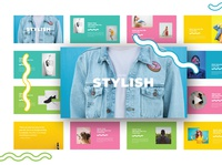 Stylish - Colorfull & Pastel PowerPoint